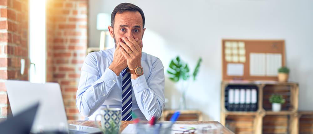 male accountant not sharing a secret