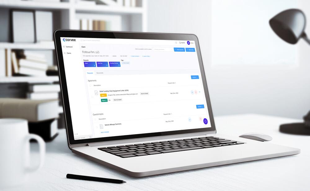 Corvee Software for Accountants